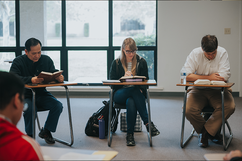 <p>Because leaders confronted with complex issues in the church need to advance in scholarship, critical discernment, and spiritual maturity, WSC maintains a culture that encourages students in the exercise of academic freedom.</p>