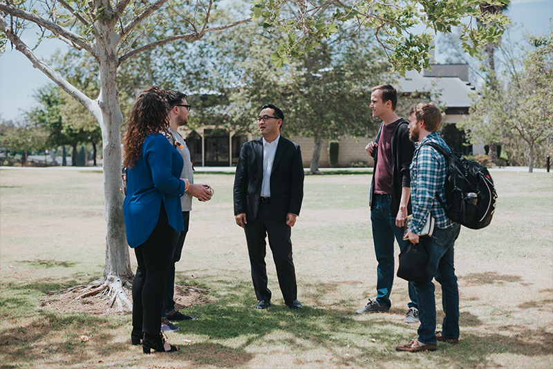 <p>Your conversations and interactions with faculty and fellow students will undoubtedly sharpen your convictions and clarify your communication skills, which is why WSC is committed to cultivating an environment that is both academically and relationally nurturing.</p>