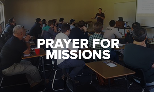 Prayer for Missions