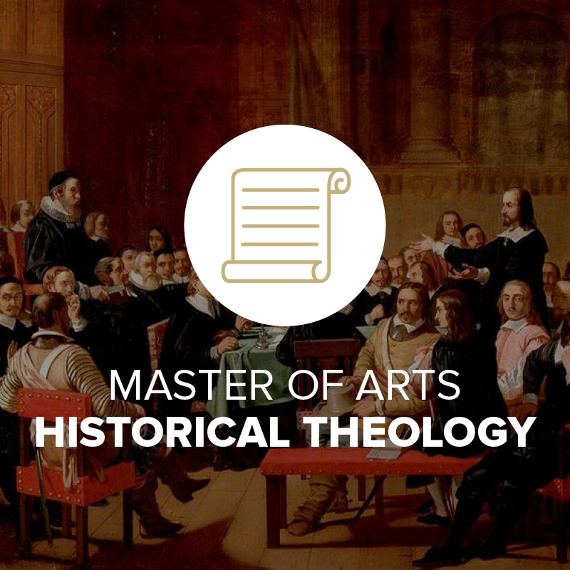 Master of Arts in Historical Theology