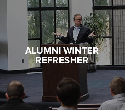 Alumni Winter Refresher
